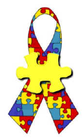 Autism Awareness Ribbon - Copyright (c) 1999-2005 Design by Cher